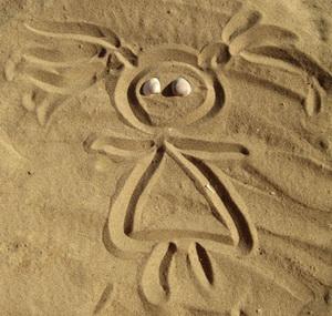Развивающие игры с песком