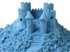 лунный песок для детского творчества