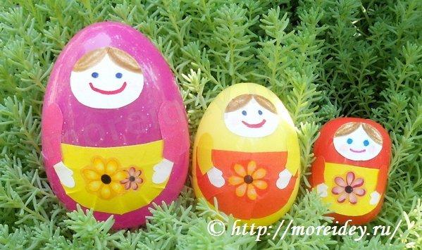 Поделки из пластиковых яиц киндер
