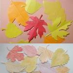 Осенние листья своими руками (3 способа)