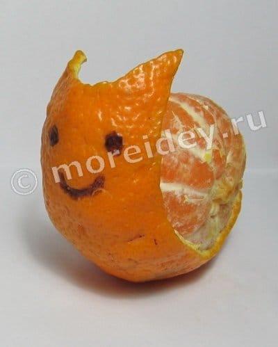 Поделки из мандаринов