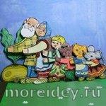 Занятия и поделки по русским народным сказкам