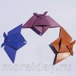 Летучая мышка — оригами с пошаговым фото-мастер-классом