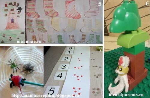 Развивающие тематические занятия для детей по сказкам Чуковского