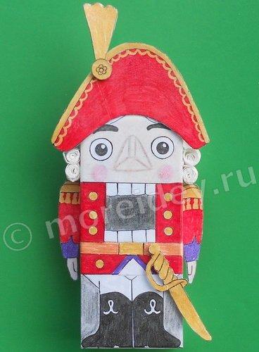 Щелкунчик новогодняя игрушка на елку своими руками