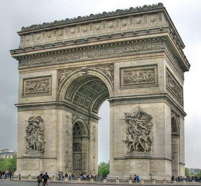 Париж. Триумфальная арка
