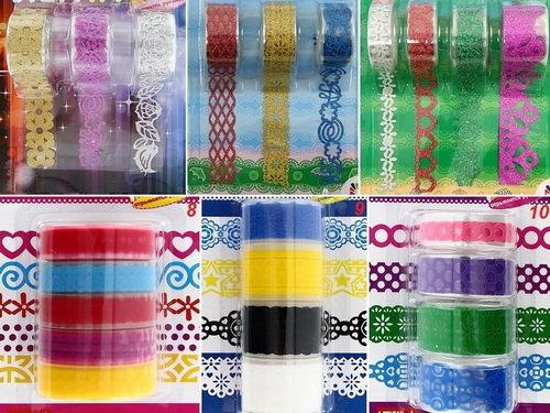 Декоративные клейкие ленты