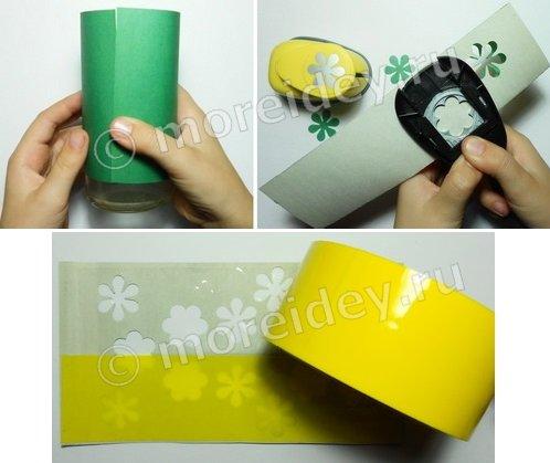 Бумажный фонарик своими руками