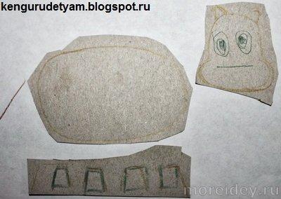 """Поделка по сказке В. Сутеева """"Бегемот, который боялся прививок"""""""