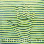 оптическая иллюзия: 3D-рисунок