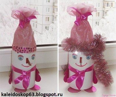 Новогодняя упаковка для сладкого подарка своими руками