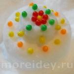 Зимние поделки из снега для детей: пироги из снега