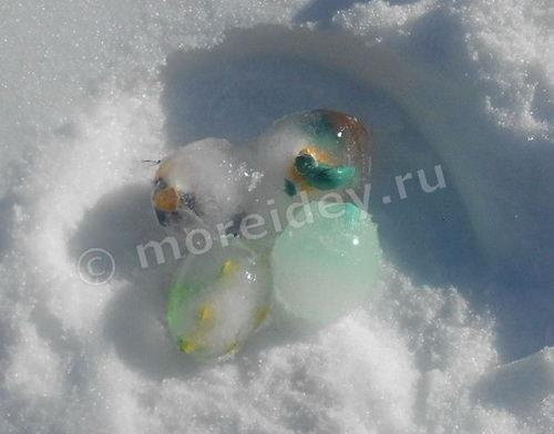 Как сделать для детей игрушку - яйца, из которых вылупляются динозаврики и другие животные