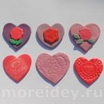 Поделки «сердечки» (лепка)