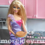 пластилиновая еда для кукол: блины