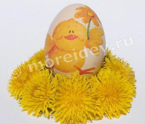 Декупаж на яйцах мастер класс