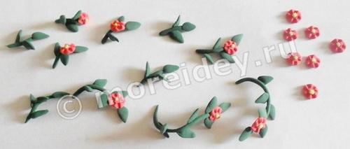 Цветы для кукол своими руками: лепка цветов из пластилина, полимерной глины или пластики