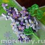 квиллинг цветы мастре-класс сирень пошагово