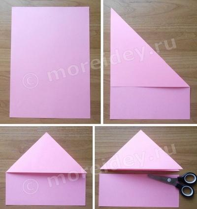 гадалка оригами из бумаги