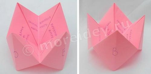 Оригами из бумаги сложные цветы