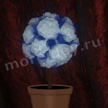 Поделка дерево из салфеток (топиарий своими руками из салфеток мастер класс)