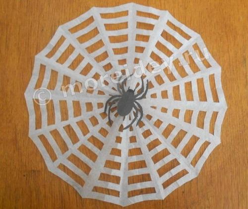 Поделки паутина и паук