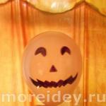 Украшение (декор) дома на Хэллоуин шарами