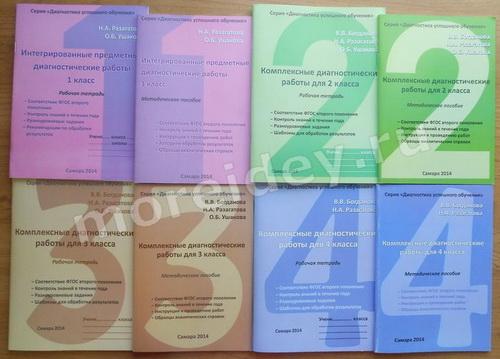 Диагностические контрольные работы в 1, 2, 3 и 4 классах