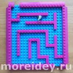 Лабиринт своими руками из Лего