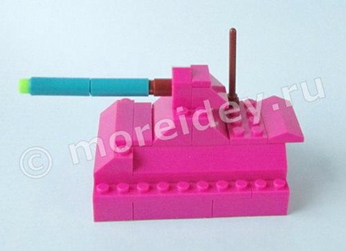 игрушка танк своими руками