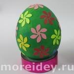Украшение пасхальных яиц