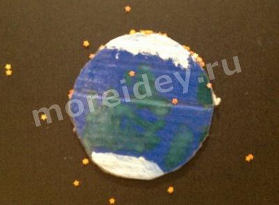 плакат планеты солнечной системы своими руками: Земля