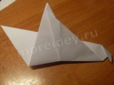 Голубь оригами фото мастер класс как делать