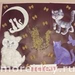 Кошки - поделки и занятие