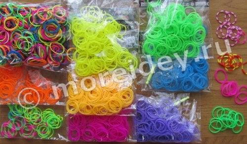 резиночки Rainbow Loom
