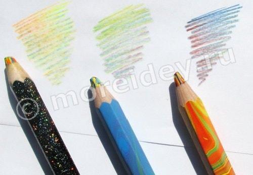 """волшебные карандаши """"Koh-I-Noor"""": три цвета в одном"""