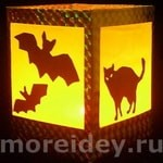 фонарики на хэллоуин