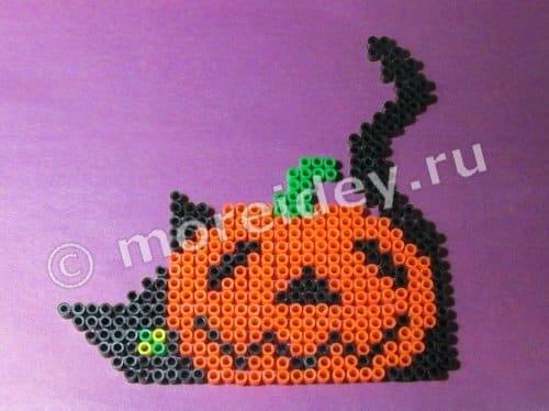 Поделка к Хэллоуину своими руками из термомозаики