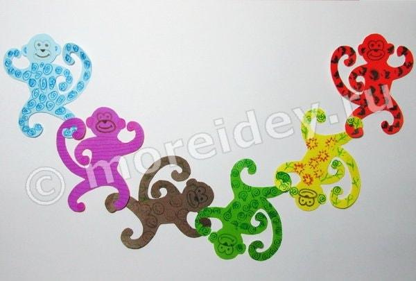поделки обезьянки для детей