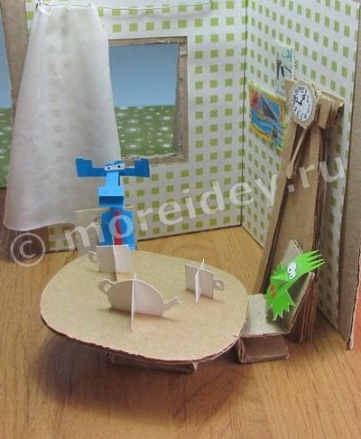как сделать мультик бумажки