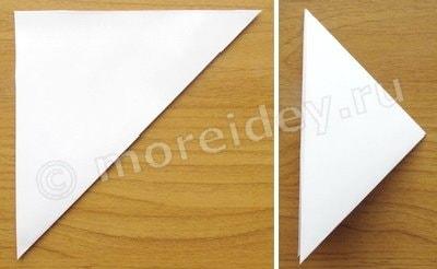 объемные снежинки из бумаги мастер класс
