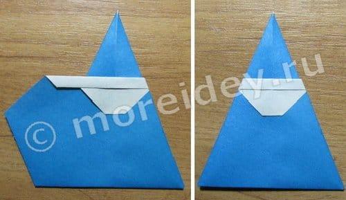 новогоднее оригами своими руками