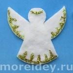 поделки к рождеству своими руками ангел