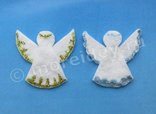 Ангелы для детей своими руками