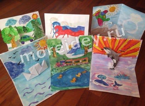 объемные открытки на 23 февраля своими руками