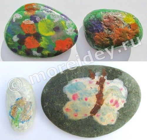 детские рисунки камне