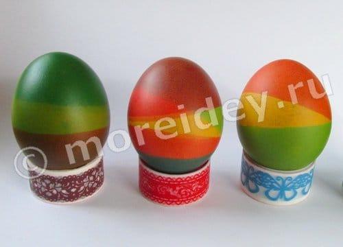 способы окраски яиц к пасхе