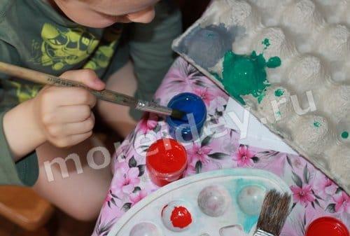 поделки бросового материала детский