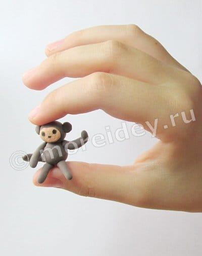 поделка обезьяны своими руками