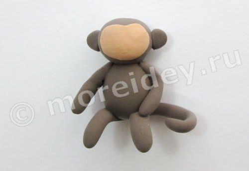 поделка обезьянка своими руками для детей